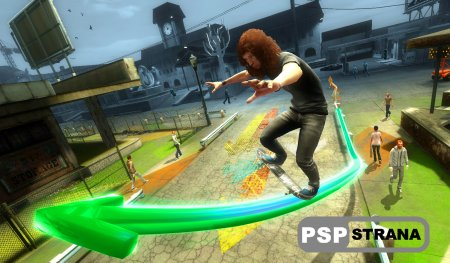 Shaun White Skateboarding для PS3