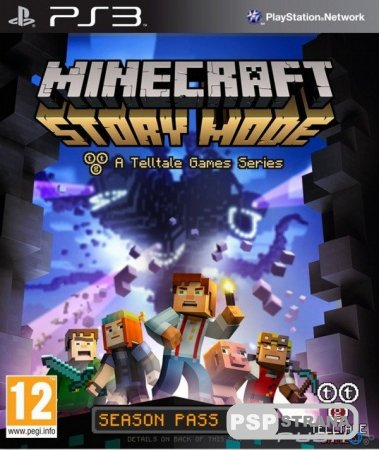 Minecraft: story mode ��� PS3