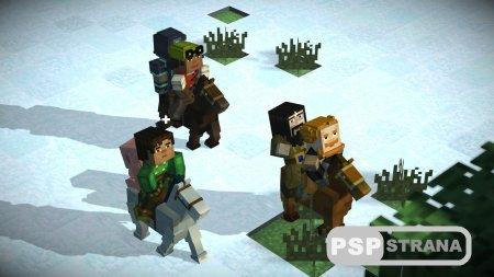 Minecraft: story mode для PS3