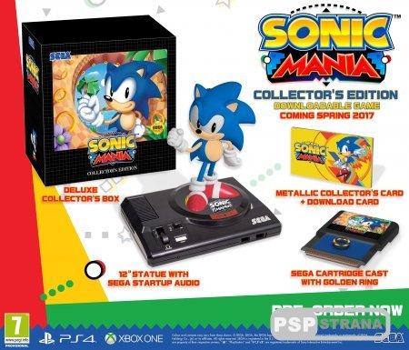 «Коллекционка» Sonic Mania появится и на европейском рынке