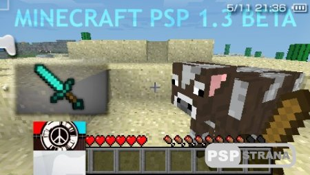 Minecraft PSP Edition v1.3.1 [Fan Version][HomeBrew][2016]
