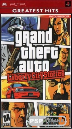 Grand Theft Auto Liberty City Stories [FULL][ISO][RUS Official][2012]