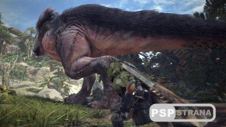 Был представлен полноценный геймплейный ролик Monster Hunter World