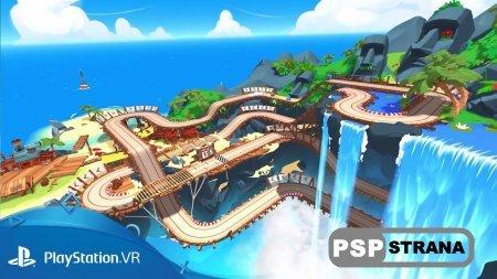 Трейлер и геймплейный ролик PSVR-гонки Tiny Trax