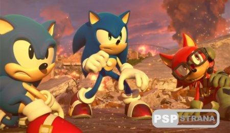 Новый геймплейный ролик Sonic Forces