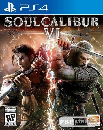На обложке SoulCalibur VI появится ведьмак Геральт из Ривии