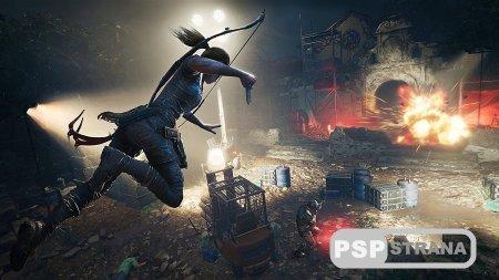В Shadow of the Tomb Raider Лара не сможет стрелять с двух рук