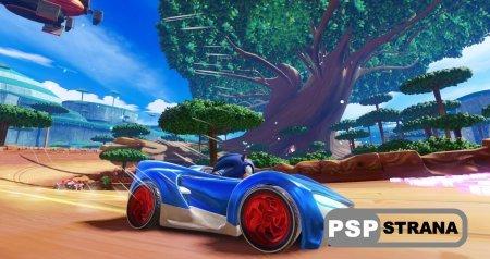 Доехать Team Sonic Racing до игроков должен в декабре