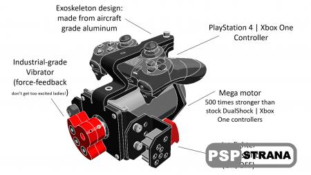 Была представлена любительская модификация Dualshock 4