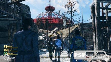 В Fallout 76 игрок сам является NPC