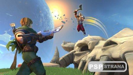 Battle Royal продолжает штурмовать PS4 в очередном проекте Realm Royale