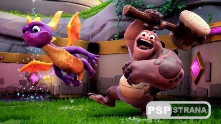 Диск с трилогией Spyro Reignited будет включать только одну игру