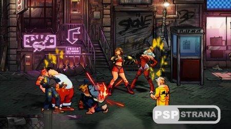 Через 24 года представили новую Streets of Rage