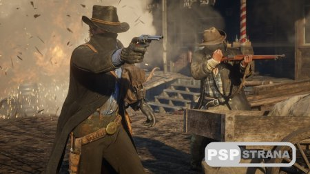 Red Dead Redemption 2 сравнили с предшественником