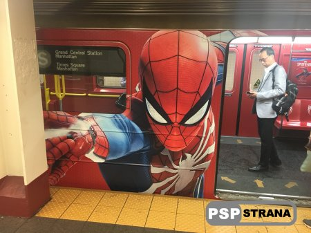 В нью-йоркском метро появился вагон «имени» Человека-Паука