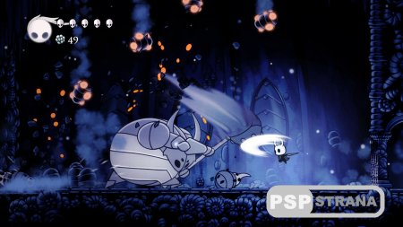 Hollow Knight доберется до PS4 в конце сентября
