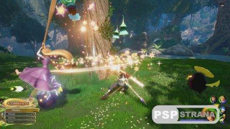Стало известно как будет выглядит мир Рапунцель в Kingdom Hearts III