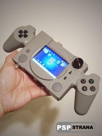Энтузиаст создал портативную версию PlayStation Classic