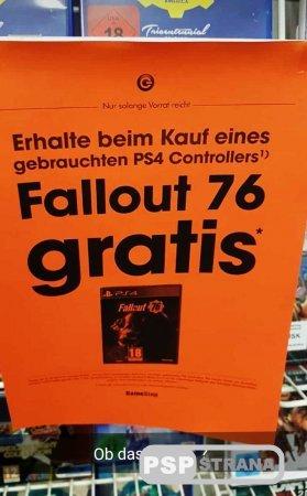 Бесплатно отдают Fallout 76 за покупку геймпада