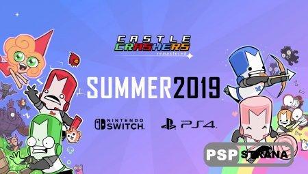 Летом станет доступна Castle Crashers на PlayStation 4