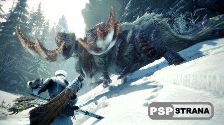 Дополнение Iceborne не уступит по масштабам основной Monster Hunter World