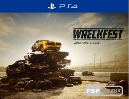 Разработчики объявили дату релиза Wreckfest для PlayStation 4