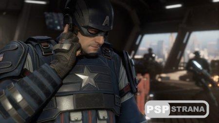 В коллекционную версию Marvel's Avengers положат Капитана Америку