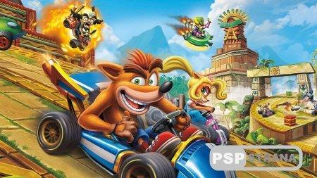 Владельца PlayStation 4 получат бесплатную тему Crash Team Racing Nitro-Fueled