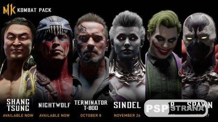 Представлен полный список дополнительных бойцов Mortal Kombat 11