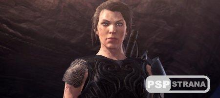 В новой версии Monster Hunter World: Iceborne появится Милла Йовович