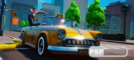 Вышел трейлер перед релизом Taxi Chaos – консольной игры, идущей по стопам Crazy Taxi