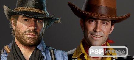 Найдено внешнее сходство между Артуром Морганом из RDR2 и Вуди из «Истории игрушек»